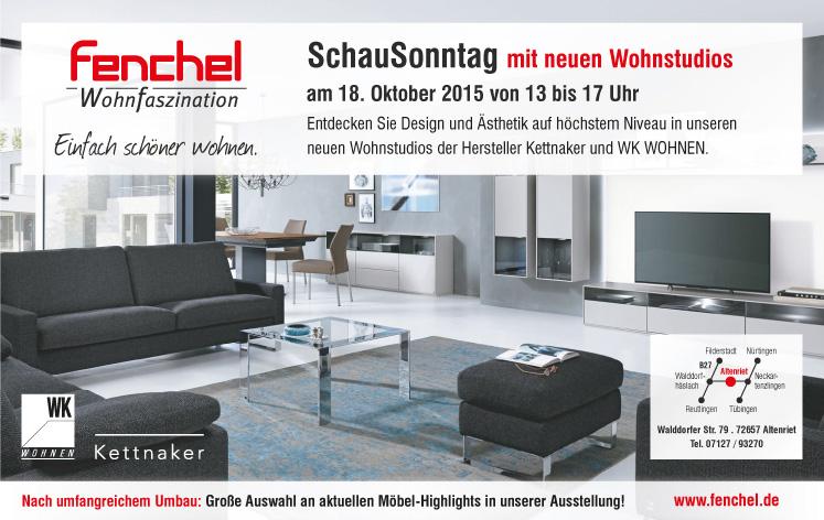 2015 10 18 Schausonntag V4 X3 Fenchel Wohnfaszination Gmbh