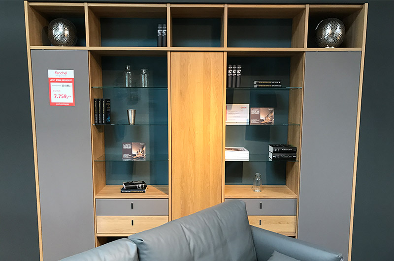 team7 wohnwand cubus fenchel wohnfaszination gmbh. Black Bedroom Furniture Sets. Home Design Ideas