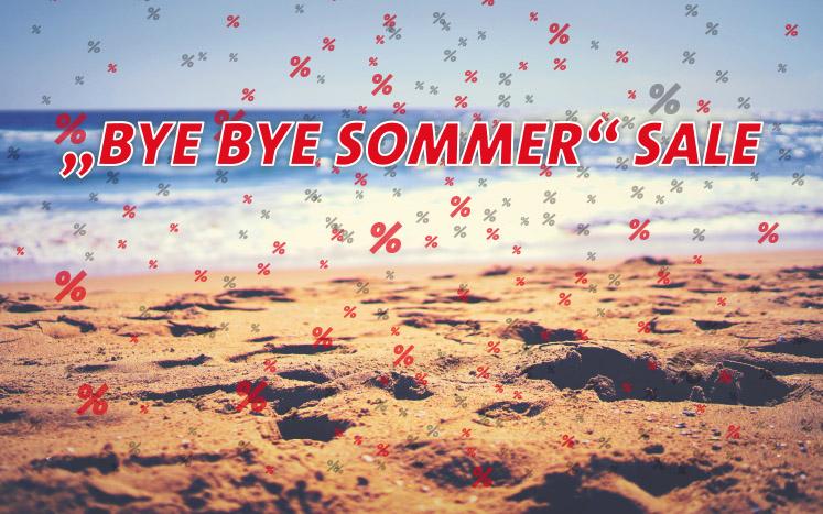 Bye Bye Sommer Sale 2019